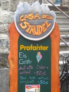 One of my favorite Italian-German combinations: Casa dello Strudel.
